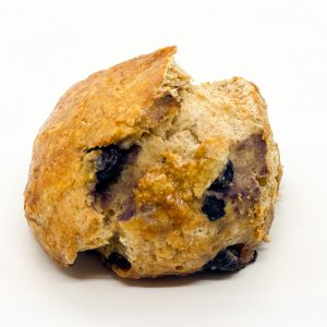 Wild Wheat Blueberry Scone