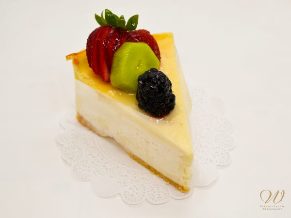 Wild Wheat cheesecake with toppings
