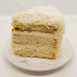 Wild Wheat coconut cake slice