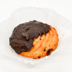 Wild Wheat coconut macaroon with chocolate