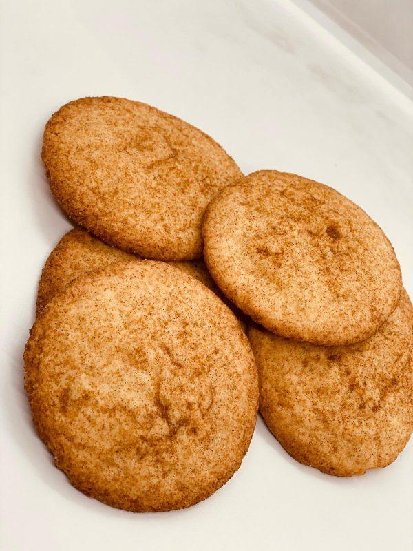 Wild Wheat Snickerdoodle Cookies