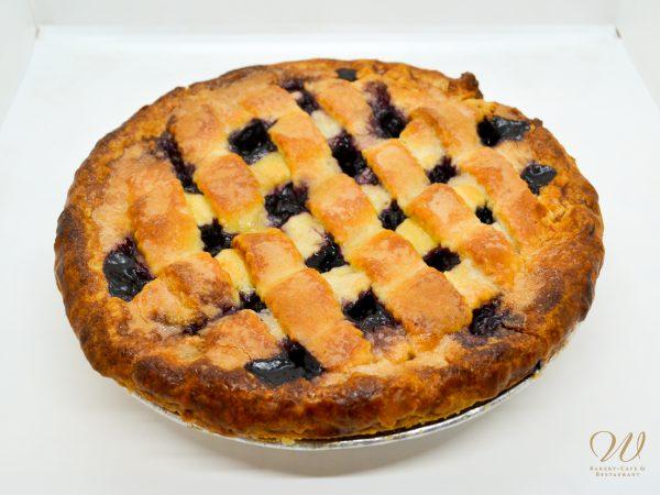 Wild Wheat mixed berry pie