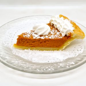Wild Wheat pumpkin pie
