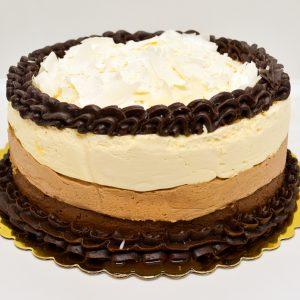 Wild Wheat triple chocolate mousse cake