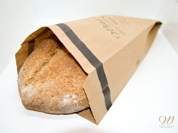 Wild Wheat multigrain seed bread in bag