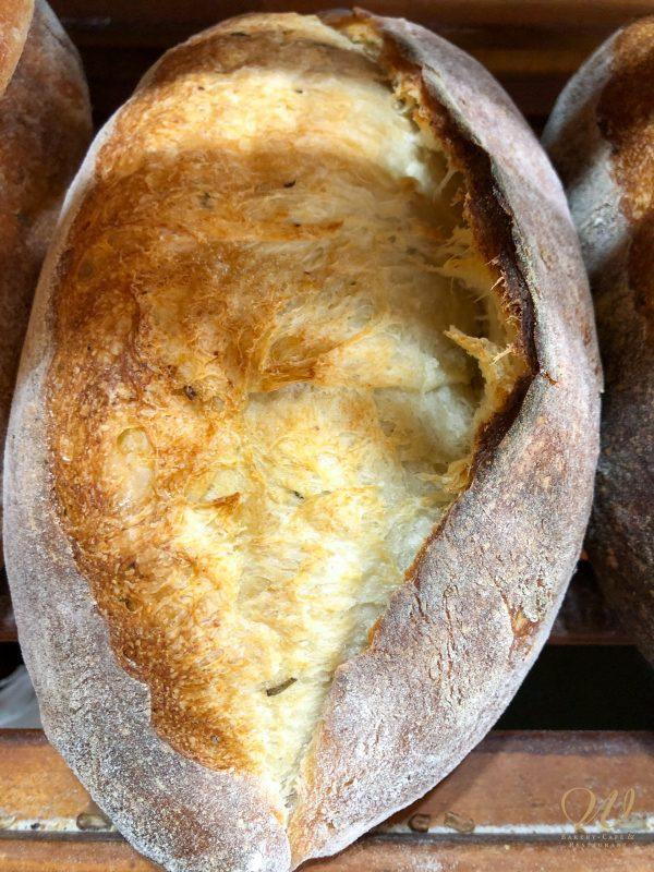 Loaf of Wild Wheat Rosemary Garlic bread
