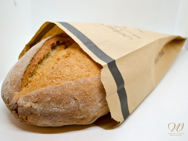 Loaf of Wild Wheat whole wheat bread in bag